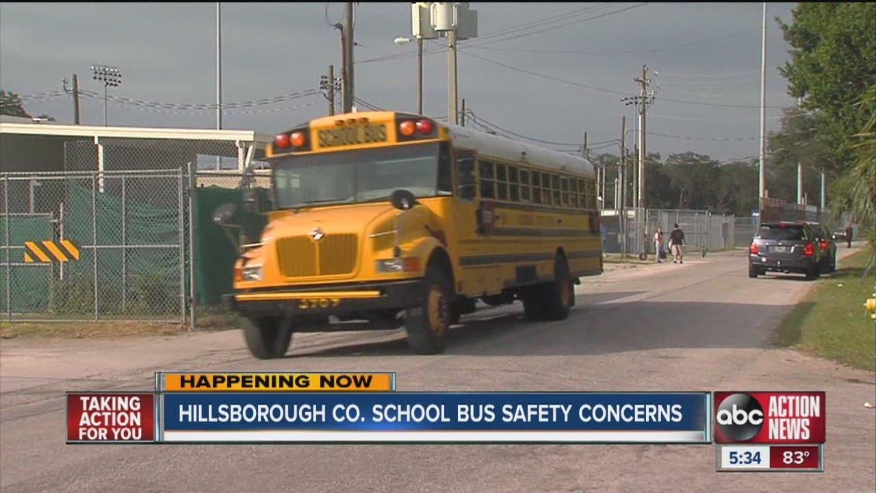 Hillsborough County school bus concerns continue - YouTube