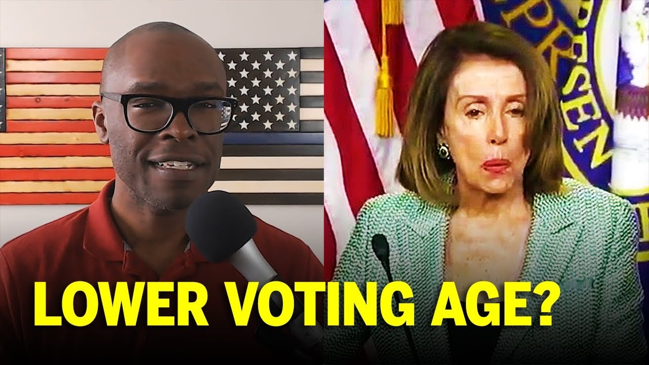 8a93aafc Nancy Pelosi Says Allow 16 Year Olds To Vote!