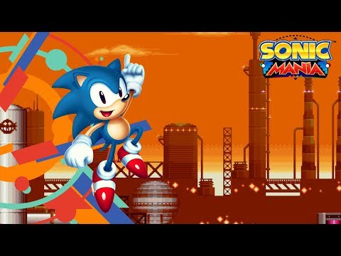 Sonic Mania Version 1.03 PS4 Archive - Oil Ocean Zone Act 1