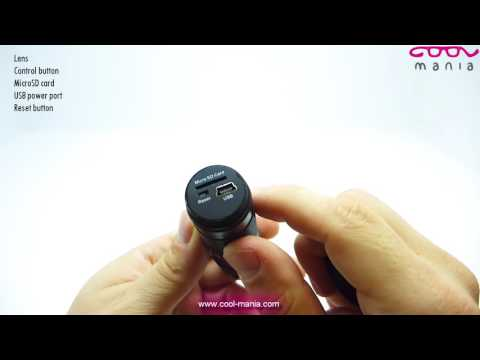 HD Spy Camera to the hand in shape of flashlight (www.cool-mania.com)