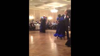 Senior Olympic ballroom dance competition