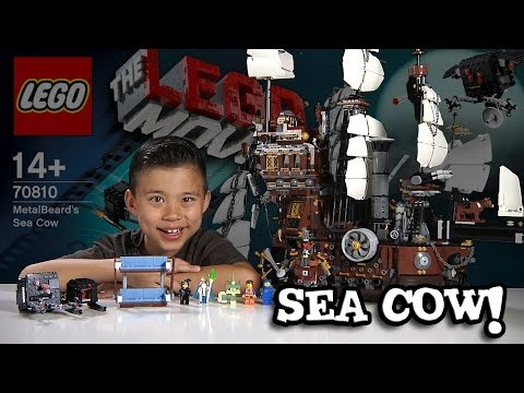 metalbeard's-sea-cow---lego-movie-set-70810---time-lapse-build,-stop-motion,-unboxing-&-review!