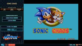 Sonic Chaos by flying fox in 14:00 - Frost Fatales 2020