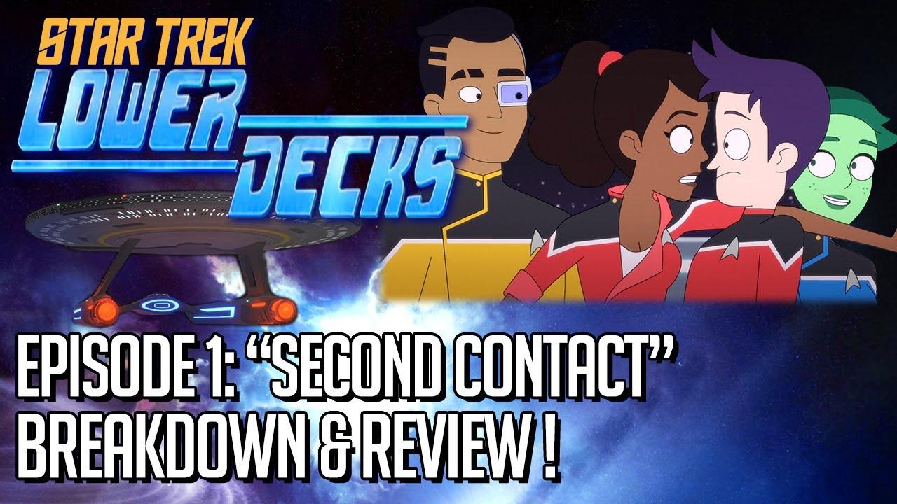 Star Trek Lower Decks Episode 1 Breakdown & Review!