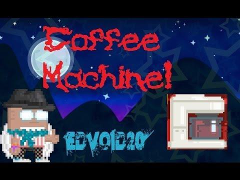 Growtopia Coffee Maker! - YouTube