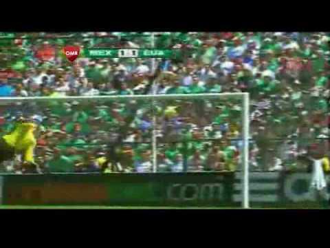 Mexico VS Estados Unidos 2-1 goles narracion en vivo televisa HD