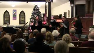 Nutcracker Suite: Overture - The Metropolitan Saxophone Quartet