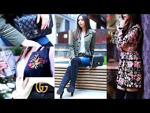 How To Style: High End Luxury Spring Clothing Haul Lookbook | Sophie Shohet
