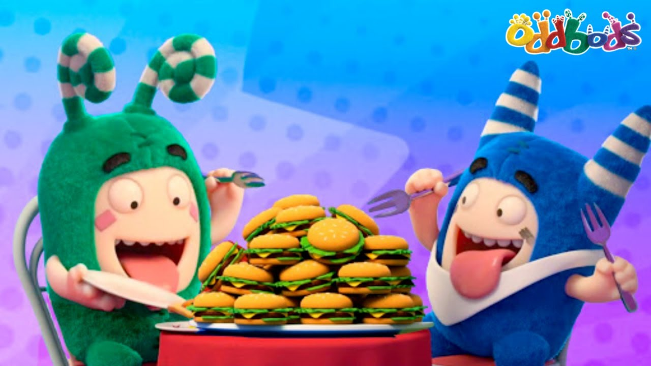Oddbods | NEW | Celebration Feast | Funny Cartoons For Kids