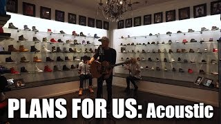 """DUSTIN TAVELLA - """"Plans For Us"""" [Acoustic Performance] Featuring EPPIC & Summer Cooke"""