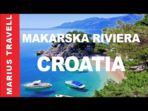 Makarska riviera Croatia Adriatic Sea Coast line