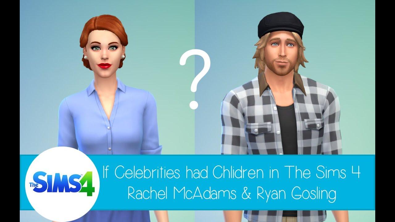 If Celebrities Had Children in The Sims 4: Rachel McAdams ... Rachel Mcadams Notebook