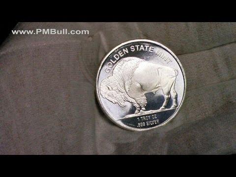 Buffalo Silver Round