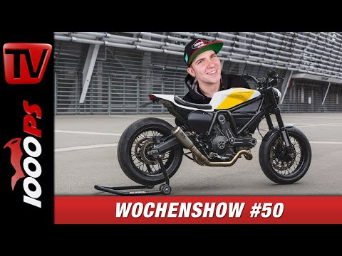 Ducati Panigale V4 Superleggera, Dakar 2020, Bad Winners Umbau uvm. - 1000PS Wochenshow #50
