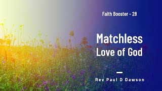 Faith Booster 28 - Matchless Love of God