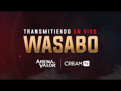 EN DIRECTO CON Wasab0 - RANKEDS MAESTRO - CREAM TV Arena Of Valor ESPAÑOL