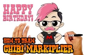 How to Draw Markiplier | Drawing Lesson
