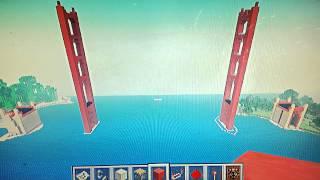 Minecraft: Golden Gate Bridge