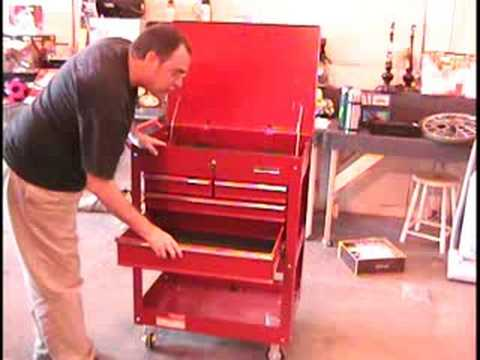 u s general 5 drawer 700lb capacity tool cart grease monkey junkie