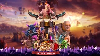 CLASH OF CLANS FULL MOVIE ANIMATED | CLASH OF WAR , CHAIN OF OLYMPUS