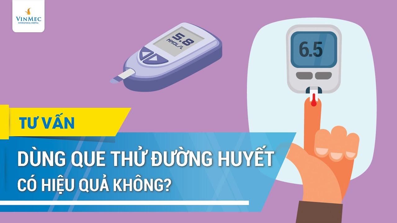Que thử đường huyết có hiệu quả không?
