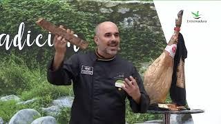 Jamón ibérico de bellota y cava de Extremadura (2) - #ExtremaduraEnFitur