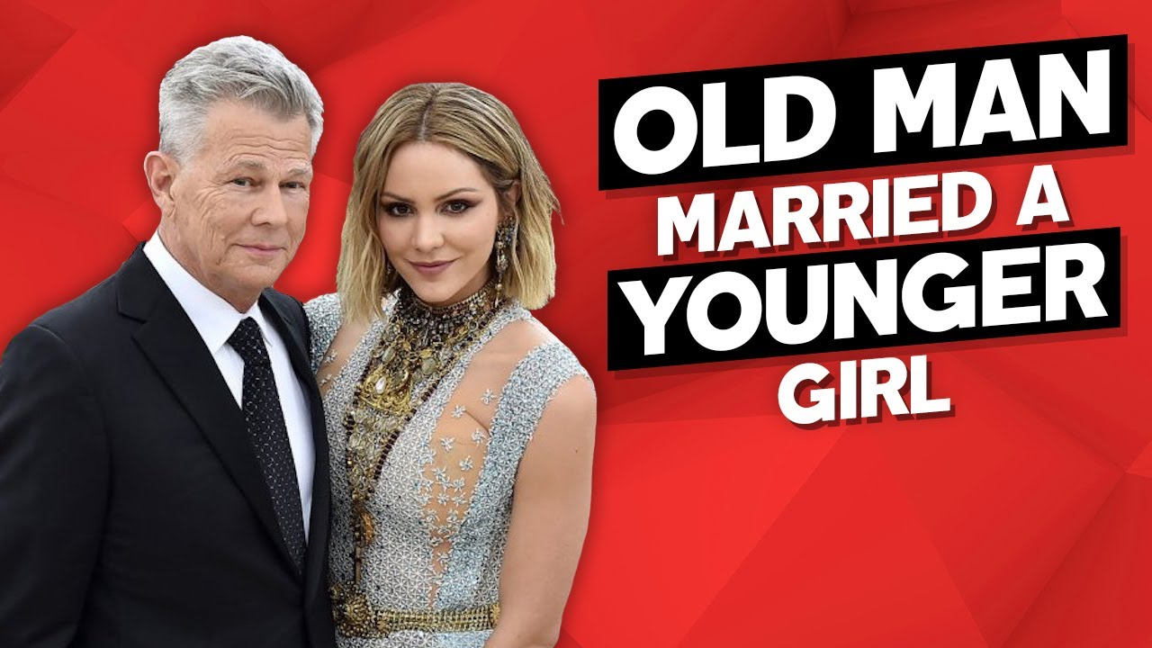 Old man married to young woman