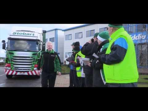 Eddie Stobart Truckers: 12 Days of Christmas Teaser. Help for Heroes