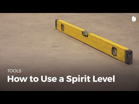 How to Use a Spirit Level | Masonry