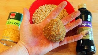 Carp Bait Recipe - How to catch carp with chicken feed.