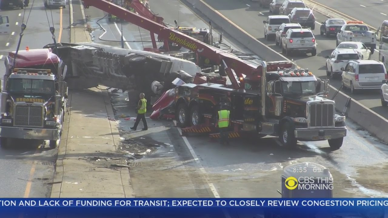 I-80 Tanker Crash