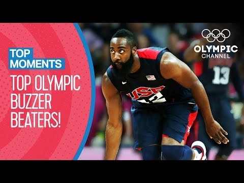 The Top Olympic Buzzer Beaters of All-Time! | Top Moments
