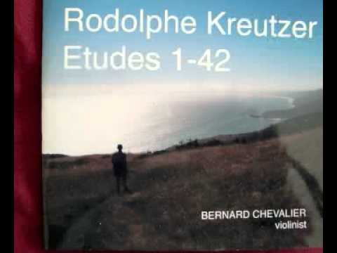 Etude #4 for solo violin by Rodolphe Kreutzer (1766-1831)