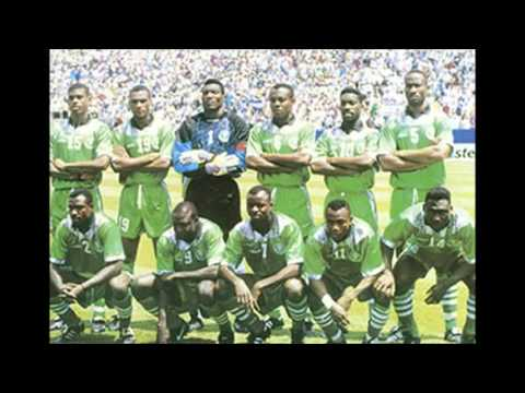 National Anthem of Nigeria 1994 FIFA World Cup VS Italy VERY RARE VERSION