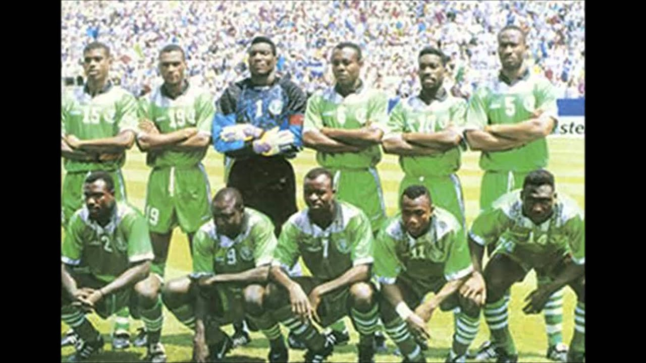 National Anthem of Nigeria 1994 FIFA World Cup VS Italy ...