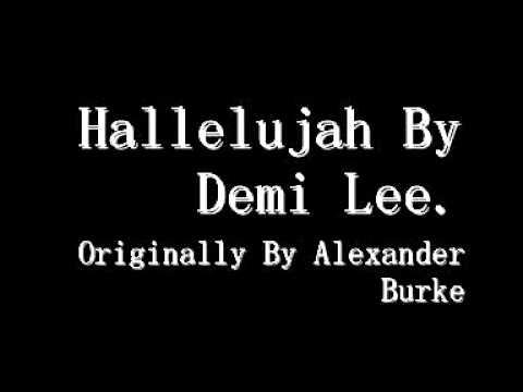 Hallelujah (Cover) - Demi Lee. Originally by Alexa...