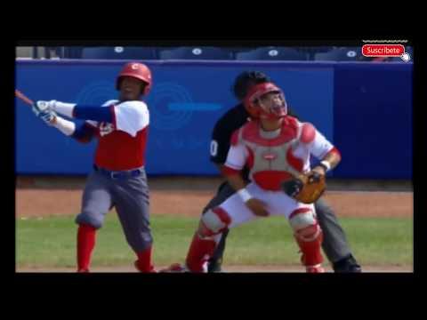 Juegos Centroamericanos 2018 Cuba vs Mexico beisbol