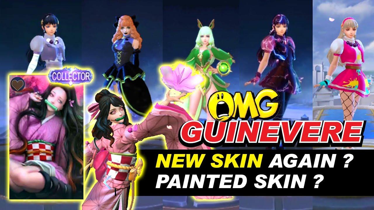 GUINEVERE NEW SKIN 20   Sakura Wishes Customized Script Design ...