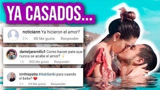 Nuestra PRIMERA VEZ JUNTOS 😈 | Respuestas en PAREJA | #AskSanki Ft Kika Nieto