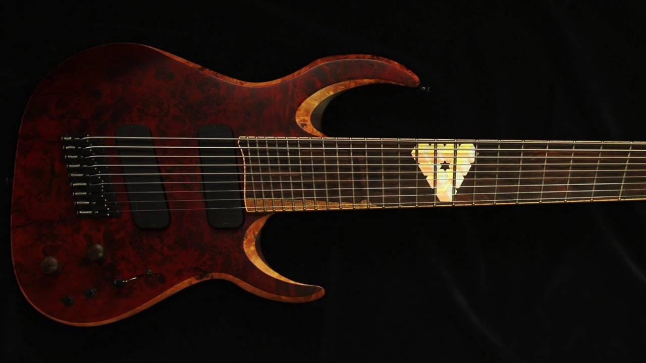 waghorn guitars corax w9 fanned fret 9 string guitar youtube. Black Bedroom Furniture Sets. Home Design Ideas