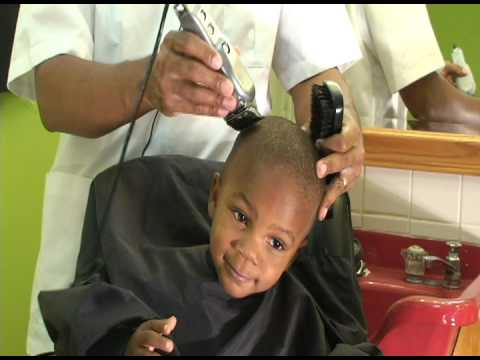 Toddler Little Boys Haircutting Tip 001 Youtube