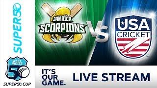 Super50 Cup - Full Match | Jamaica v USA | Monday 22 October 2018 thumbnail
