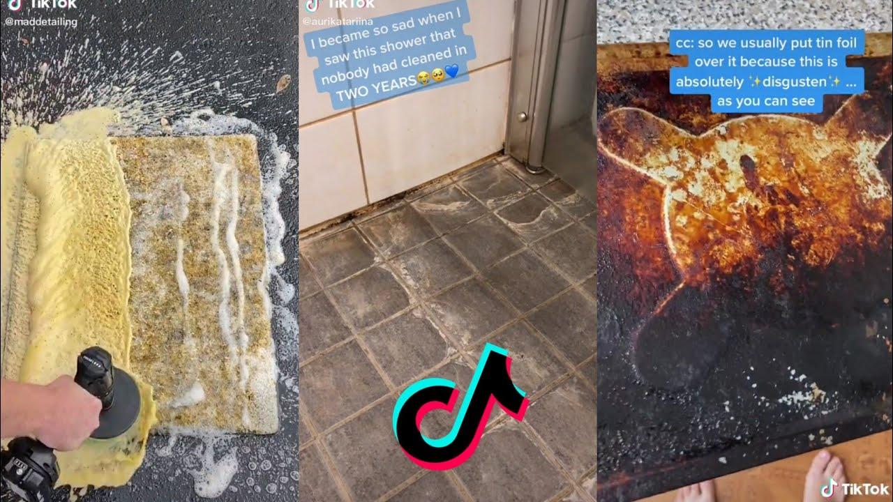 "Finding Quarantine Joy Through ""Cleaning TikTok"" | InStyle  |Housekeeping Tiktok"