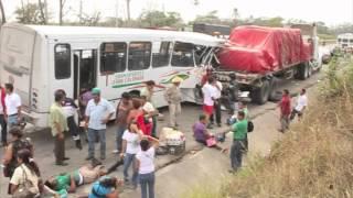 Trágico accidente en la carretera Veracruz - Xalapa