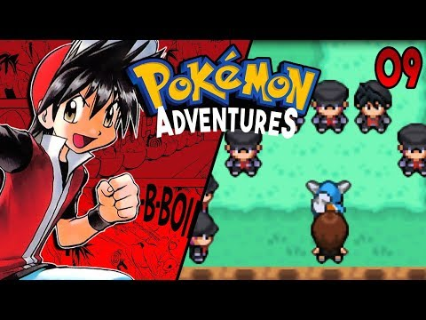 Pokemon Adventures Red Chapter Part 9 - TEAM ROCKET OUTFIT! Rom hack Gameplay Walkthrough