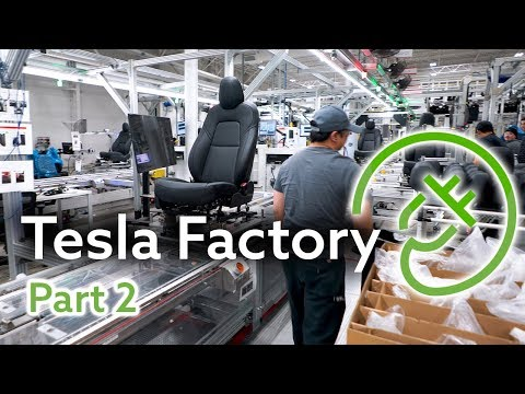 Tesla Fremont Factory Tour, Part 2 — The Seat Factory