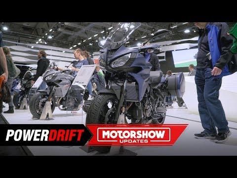 Yamaha Tracer  GT : An MT- for touring : Intermot  : PowerDrift