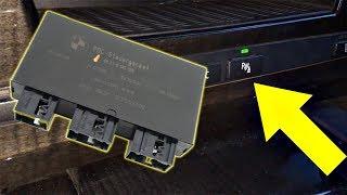 PDC Modul Install - Parking Sensor Replacement BMW E60