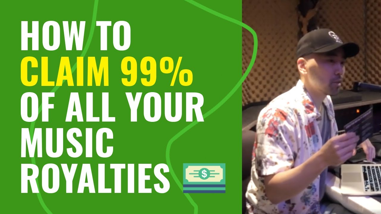 How to collect 99% of your music royalties independently - 4 simple steps