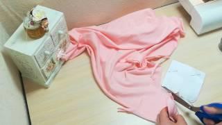 #10 Шьем варежки-царапки для новорожденного. Мастер-классы от Ники. Шьем с нуля.